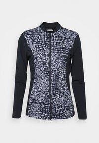 J.LINDEBERG - HARLOW MID LAYER - Fleece jacket - navy croco - 0