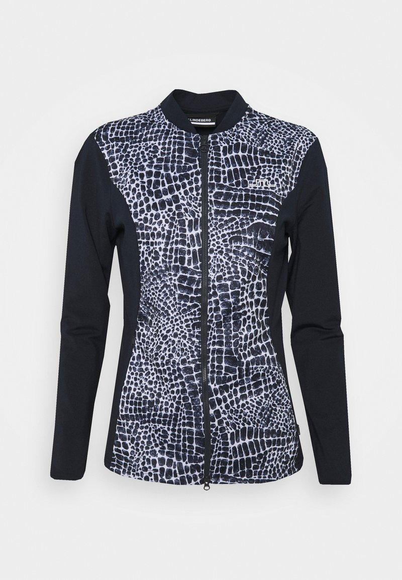 J.LINDEBERG - HARLOW MID LAYER - Fleece jacket - navy croco