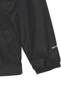 The North Face - ZIPLINE RAIN JACKET - Hardshell jacket - black - 2
