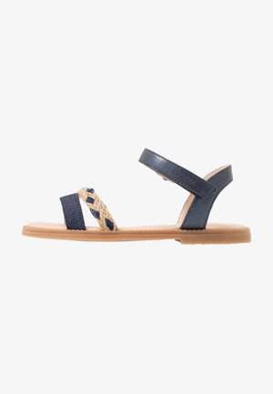 KARLY GIRL - Sandals - navy