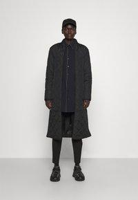 Bruuns Bazaar - AZAMI LINETTE COAT  - Winter coat - black - 1