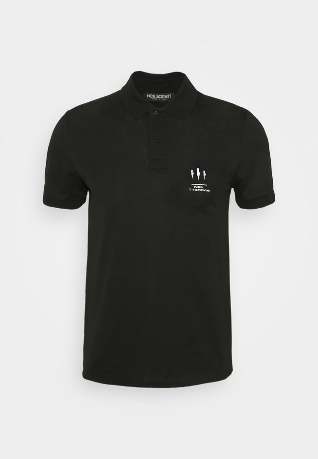 TRIPTYCH THUNDER - Polo shirt - black/white