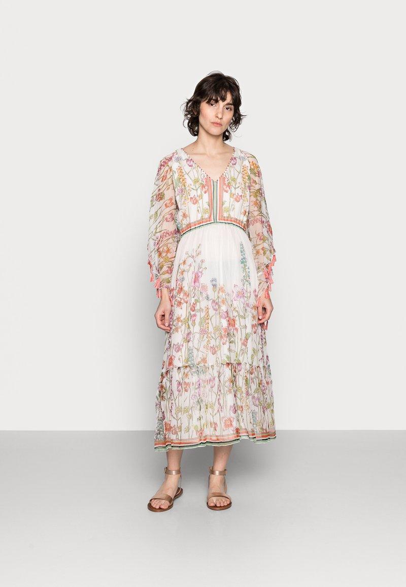 Derhy - SIENNE DRESS - Długa sukienka - off white