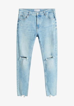 MIT RISSEN  - Jeans Skinny Fit - light blue