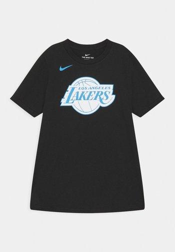 NBA CITY EDITION LA LAKERS LOGO TEE UNISEX