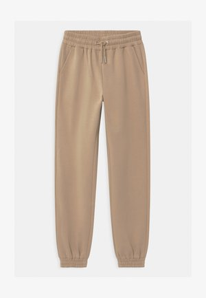 TEEN TYRA - Tracksuit bottoms - beige