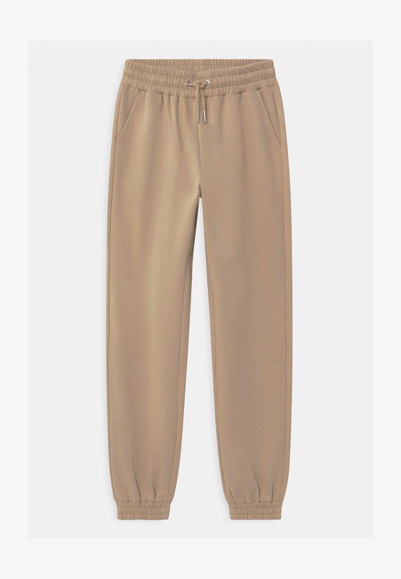 Lindex - TEEN TYRA - Teplákové kalhoty - beige