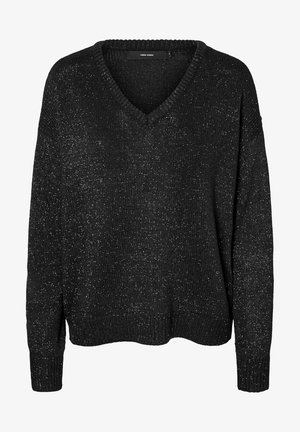 GLITTA - Jumper - black