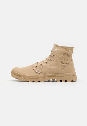 MONO CHROME UNISEX - Lace-up ankle boots - warm sand