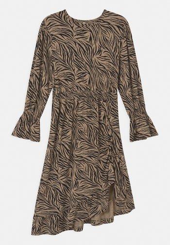 GIRLS DRESS - Žerzejové šaty - beige