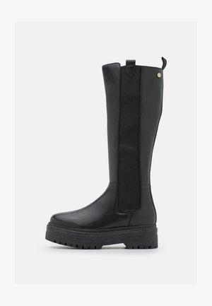 GOING HIGH  - Platåstøvler - black