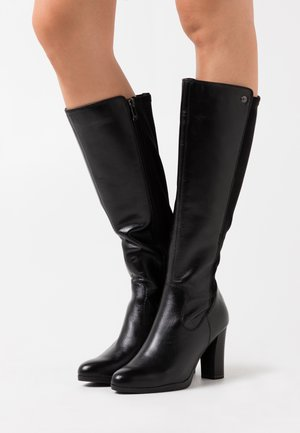 BOOTS - High heeled boots - black