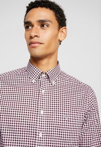 GANT - THE BROADCLOTH GINGHAM - Shirt - port red - 3