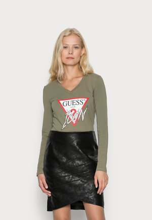 ICON - Long sleeved top - olive