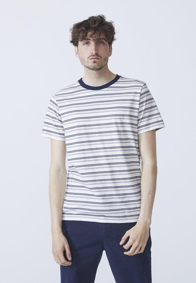 BEN - T-shirt med print - dark blue