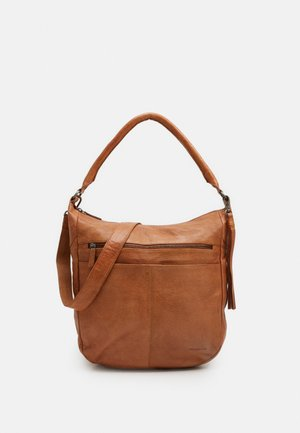 STUDDY - Tote bag - caramel