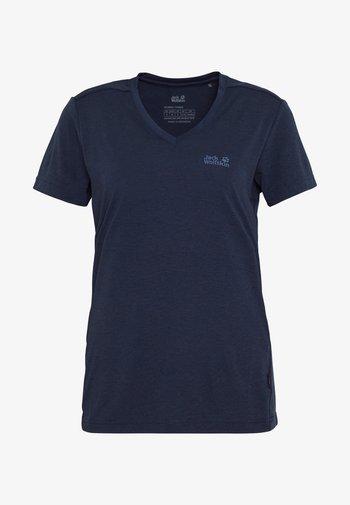 CROSSTRAIL WOMEN - T-shirt basic - midnight blue