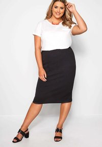 Yours Clothing - Pencil skirt - black - 1