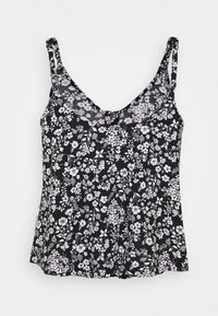 Hollister Co. - VOLUME DRIVING CAMI MAR UPDATE - Top - black - 1