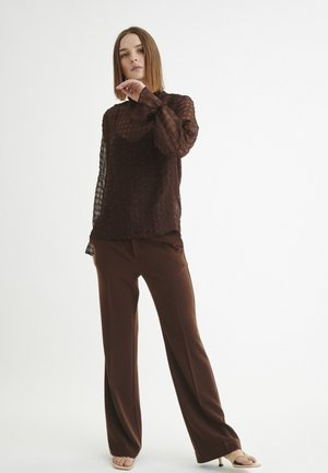 PAKWAIW - Blouse - coffee brown