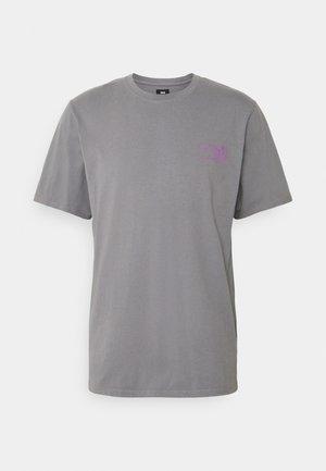 MONDOKORO UNISEX - Print T-shirt - frost grey
