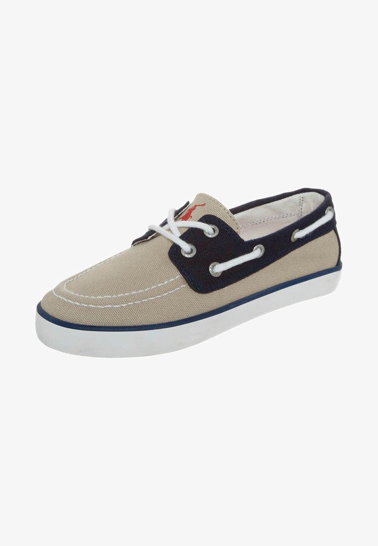 Polo Ralph Lauren - SANDER - Bootschoenen - khaki navy