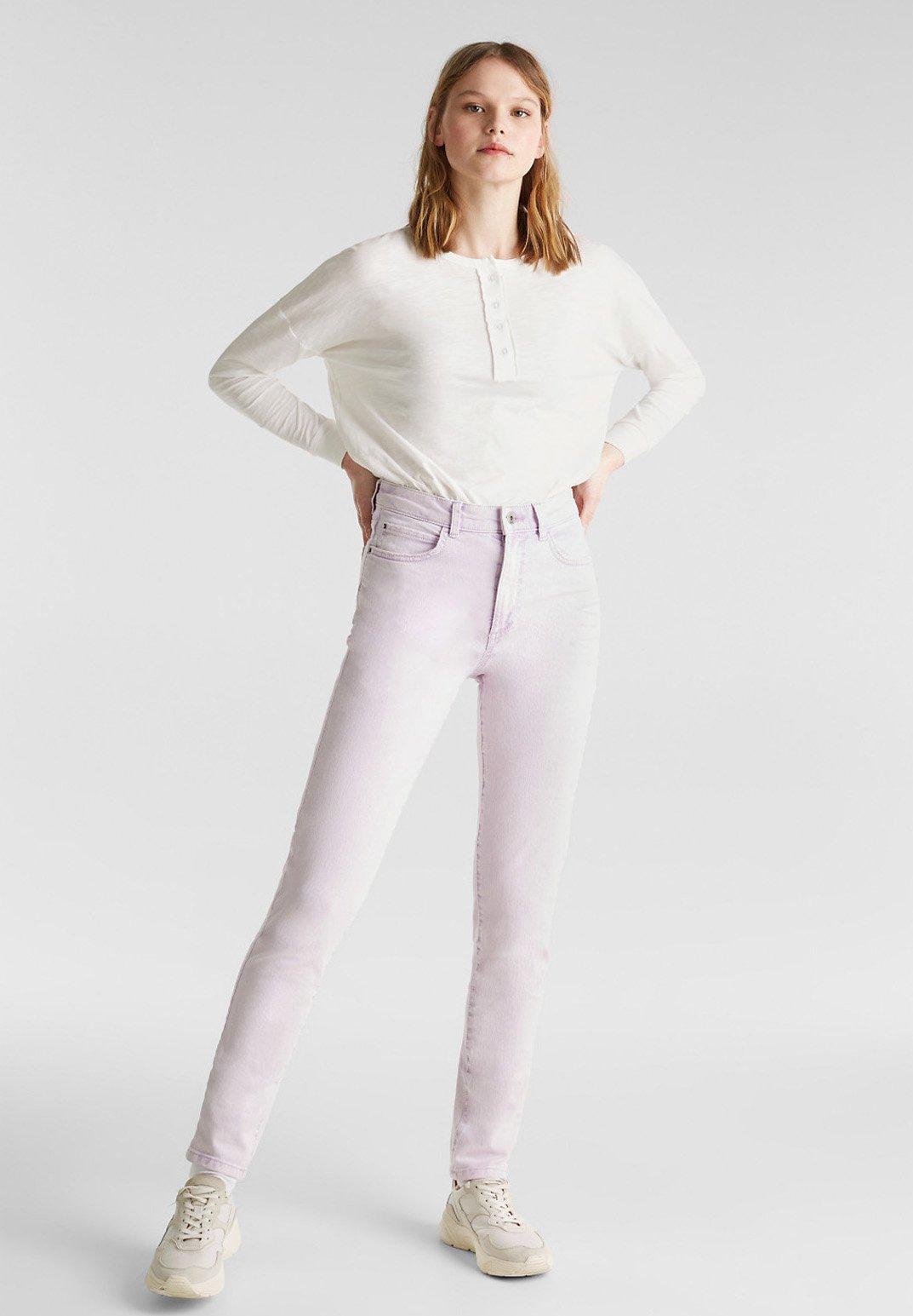 Femme MIT ACID-WASCHUNG - Jean slim
