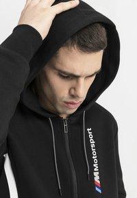 Puma - BMW M MOTORSPORT  - Zip-up hoodie - black - 3