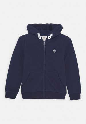 HOODED  - Felpa aperta - navy