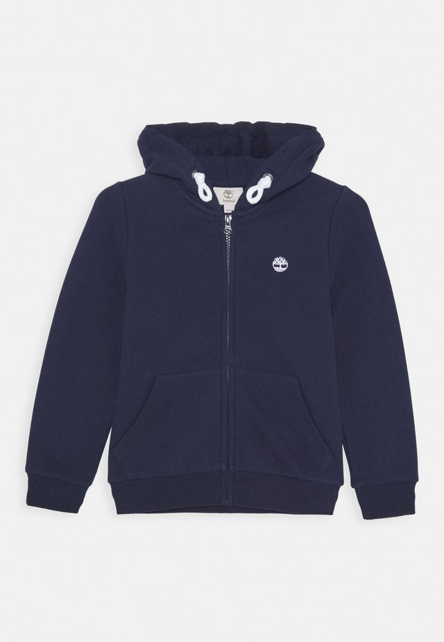 HOODED  - veste en sweat zippée - navy