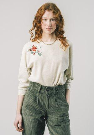 DALIA WAFFLE  - Jumper - white