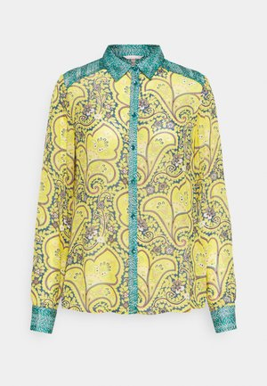 BLOUSE PAISLEY WHEAT PRINT - Button-down blouse - multi-coloured