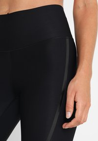 Casall - CASALL SCULPTURE HIGH WAIST - Tights - liquid black - 5