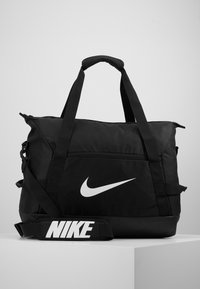 Nike Performance - TEAM DUFF  - Sports bag - black/white - 0