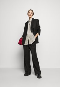 House of Dagmar - GINA  - Button-down blouse - light grey - 1