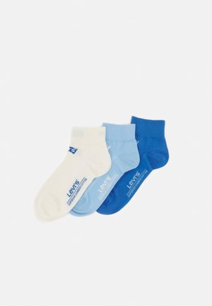 MID CUT BATWING LOGO 3 PACK - Socks - blue