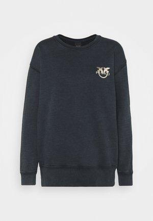 SANO MAGLIA FELPA - Sweatshirt - black