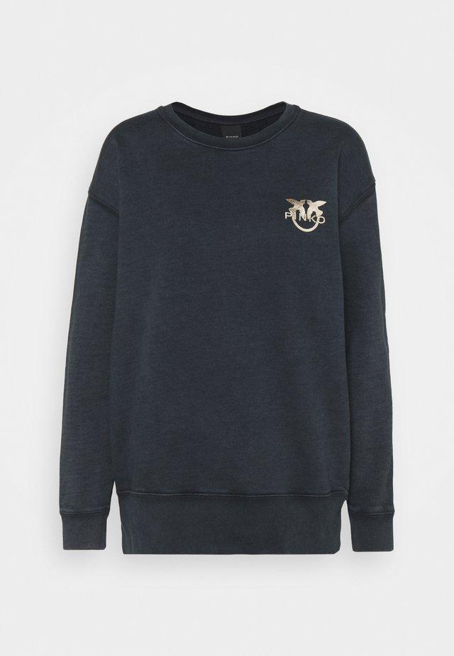 SANO MAGLIA FELPA - Sweater - black