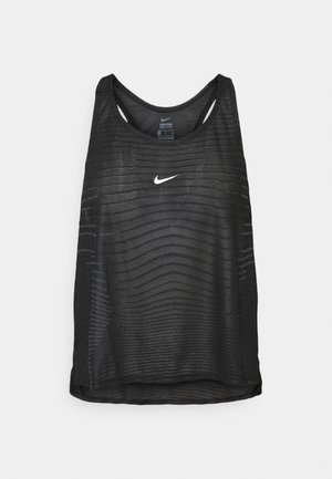 TANK - Sportshirt - black/smoke grey
