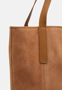 Anna Field - LEATHER - Tote bag - tan - 3