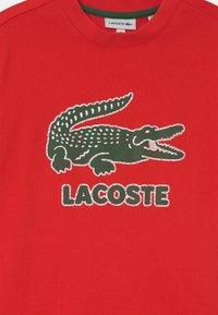 Lacoste - TEE LOGO UNISEX - T-shirts print - redcurrant bush - 2
