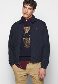 Polo Ralph Lauren - BLEND - Strickpullover - dark blue/multicolor - 4