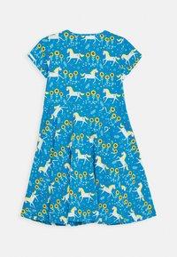 Frugi - SOFIA SKATER DRESS UNICORN - Jerseyjurk - blue - 1