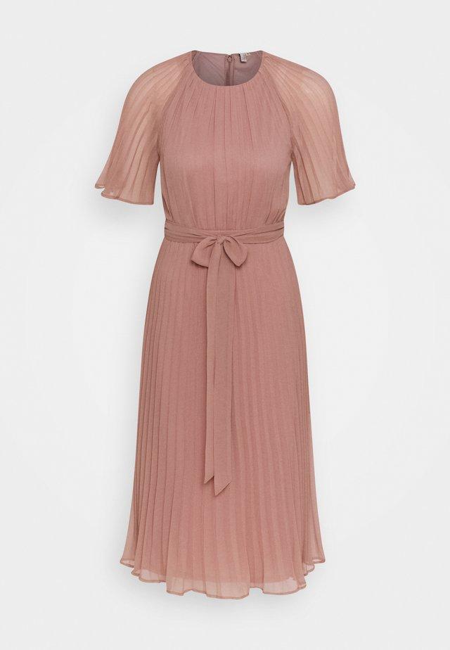 DREAM MIDI DRESS - Cocktail dress / Party dress - dark pink