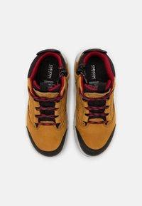 Geox - AERANTER BOY ABX - High-top trainers - light brown/dark red - 3