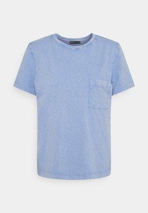 AUTH POCK TEE - Basic T-shirt - blue