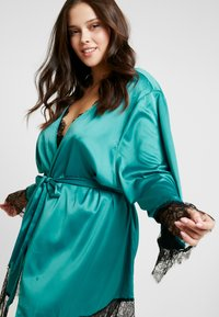 Playful Promises - SLEEVES - Badekåpe - teal - 3