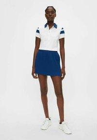 J.LINDEBERG - Pleated skirt - midnight blue - 1