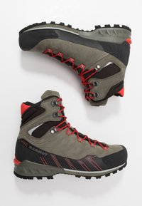 Mammut - KENTO GUIDE HIGH  - Mountain shoes - tin/spicy - 1