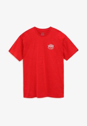 MN HOLDER ST CLASSIC - T-shirt med print - high risk red/white